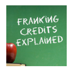 franking credits explained white